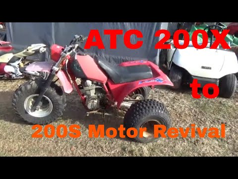 Honda ATC 200X to 200S Engine Swaps, Which ATV to Revive Next?