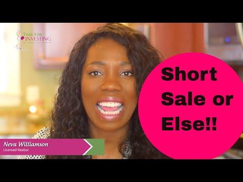Short Sales on a Home Mortgage | Short Sales Alexandria VA | Explain Short Sale | Why Short Sale