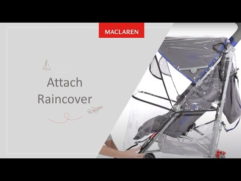How to attach Raincover