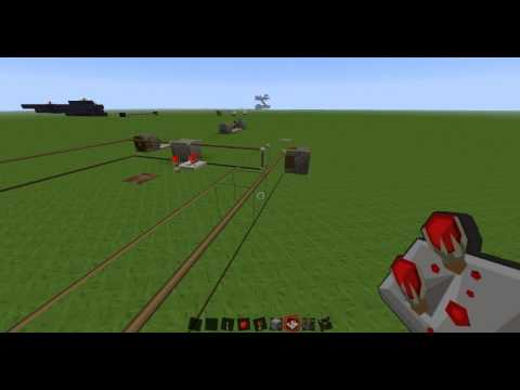 Minecraft Simple Long Clock few repeaters