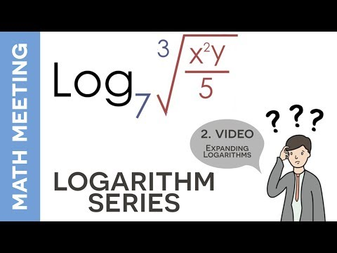 Expanding logarithms - Using the properties of logarithms
