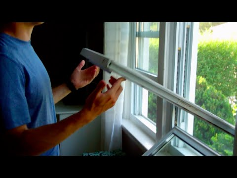 How To Tilt In Window For Cleaning
