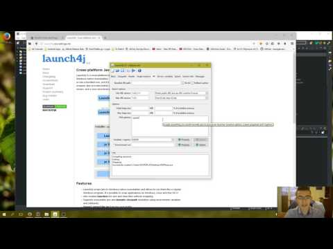 How to convert  jar to  exe using Launch4J  Full explanation