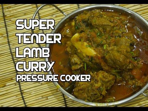 Lamb Curry Pressure Cooker Recipe - Indian Mutton Masala
