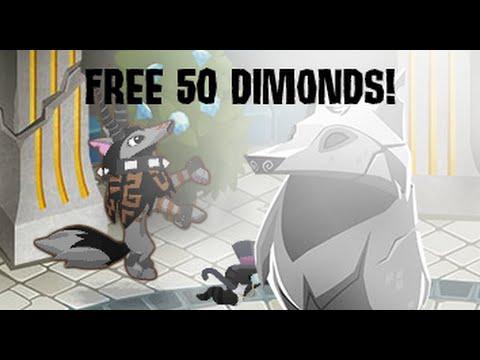 AJ: How to get 50 free diamonds!