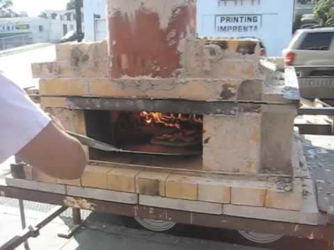 One-Day Arched Brick Pizza Oven Build: Cooking Wood-Fired Pizzas