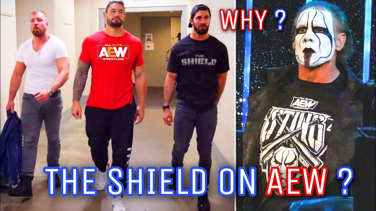 The Shield Reunion In AEW,Why Sting Is All Elite,Royal Rumble 2021 Winner,Drew Opponent And More ?