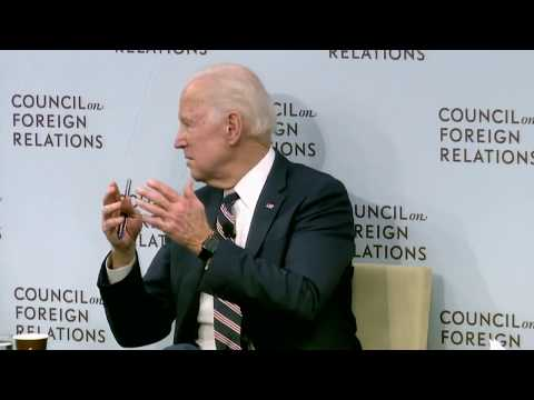 Clip: Biden on the Obama Administration's Response to Russia