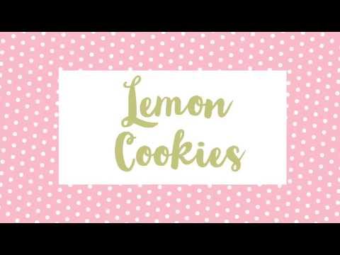 How To Make Simple Lemon Cookies!