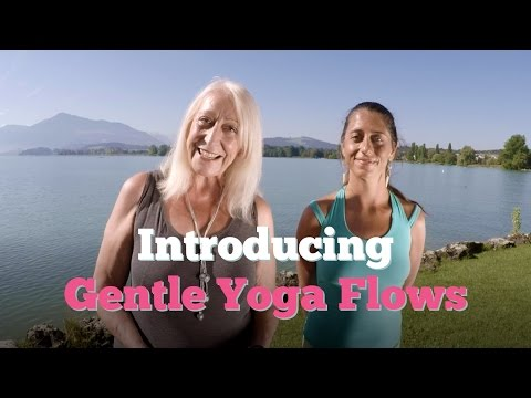 Introducing Our Gentle Yoga Flows - from Sixty and Me