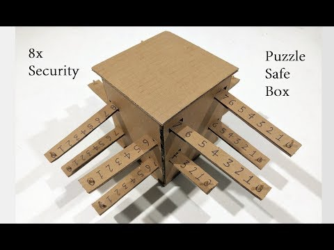 How to Make a Safe Locker Box with 8x security | password locker