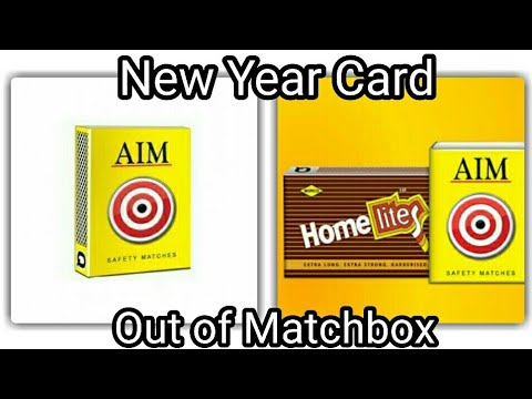 Matchbox Card  | DIY | Greetings Card Box Out of Empty Matchbox