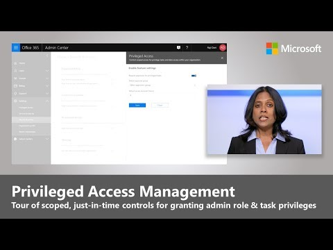 Introducing privileged access management in Office 365