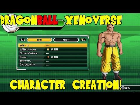 Dragon Ball Xenoverse Beta: Character Creation (Saiyan)