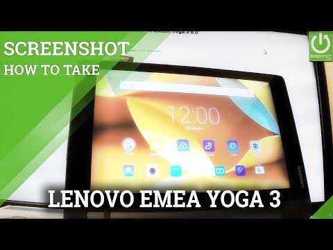 How to Capture Screen in LENOVO EMEA Yoga 3 - Take Screenshot