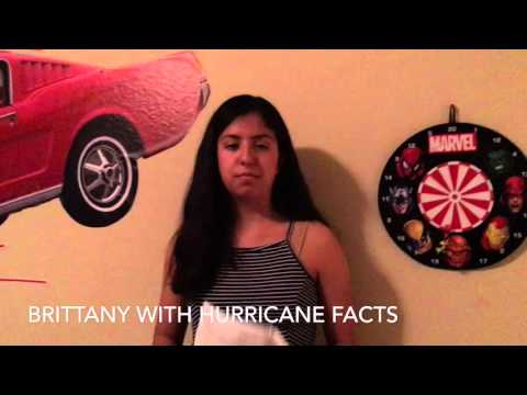 Hurricane Science Project