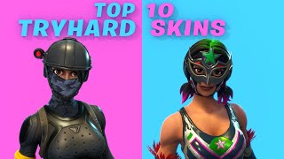 Top 10 most Tryhard skins in Fortnite