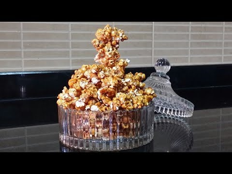 Make Caramel Popcorn At Home/Kids special Sweet Popcorn/Easy & crunchy Caramel Popcorn.