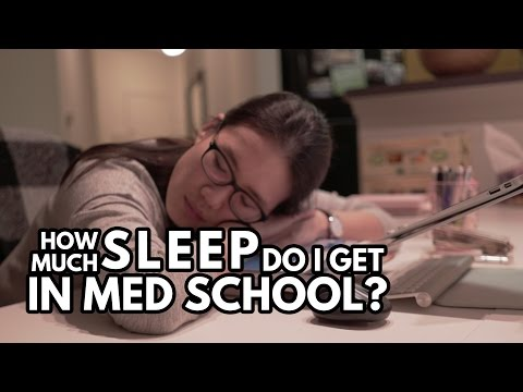 How much sleep do I REALLY get in med school?