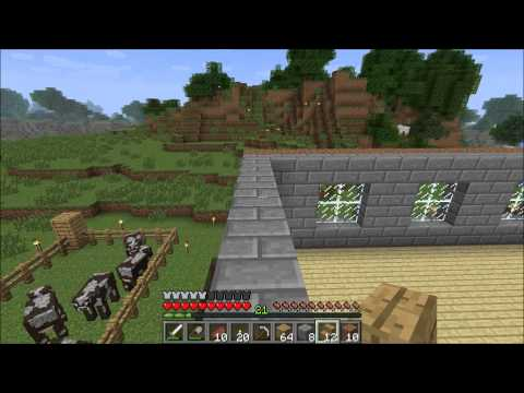 Minecraft for Kids - Tutorial - How to Build a New House Pt 2 - Ep 006
