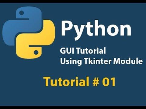 Python GUI: Creating a window in Python using Tkinter Tutorial# 1