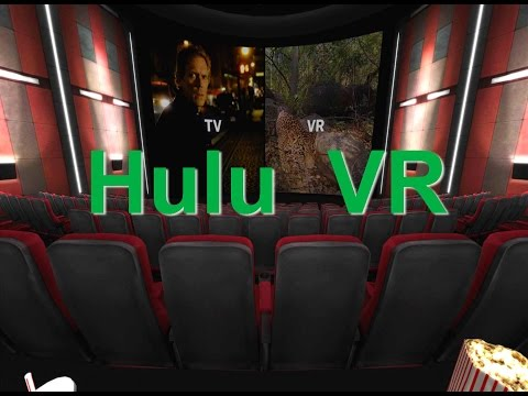 HULU VR - The Next Way to Watch TV