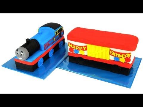 Thomas The Tank Engine Cake (Thomas The Train) by Cookies Cupcakes and Cardio