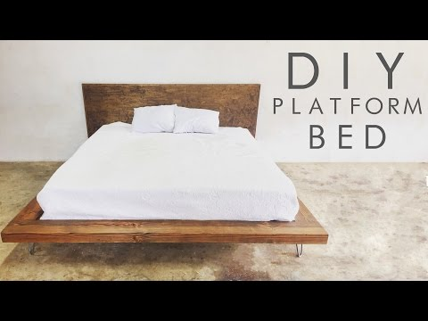 DIY Modern Platform Bed | Modern Builds EP. 47
