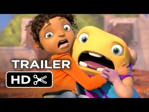 Home Official Trailer #1 (2015) - Jennifer Lopez, Rihanna Animated Movie HD
