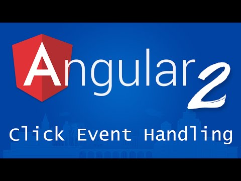 Angular 2 for Beginners - Tutorial 9 - Click Event Handling