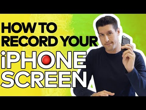 How to Record Your iPhone iOS11 2017 - Free iPhone Screen Recorder!
