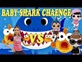 BABY SHARK CHALLENGE LOL Surprise Dolls vs Barbie| Sing and Dance with Pinkfong Best songs for kids