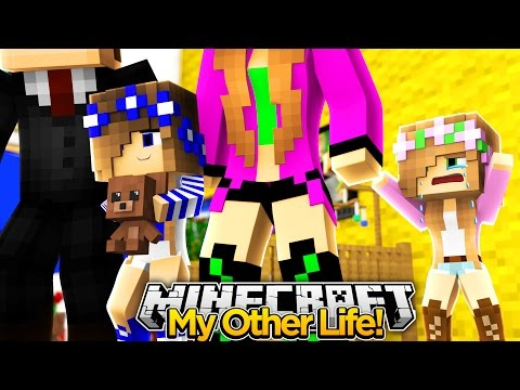 My Other Life #1 SAYING GOODBYE TO LITTLE KELLY!! (Minecraft Roleplay)
