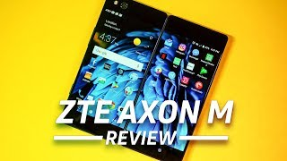 ZTE Axon M Review - the foldable phone is here