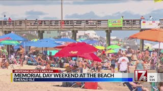 North Carolinians flock to beaches for Memorial Day weekend