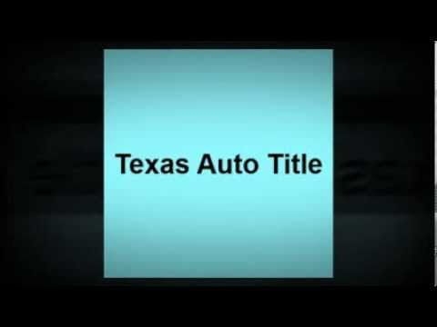 Texas Auto Title - Notary Public - Houston, TX