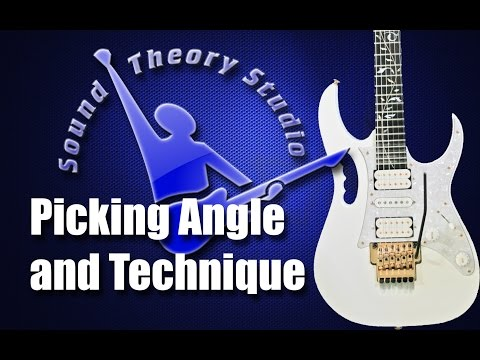 Picking Angle and Technique (Beginner to Intermediate Lesson)