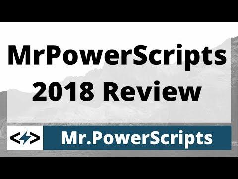 MrPowerScripts 2018 Review