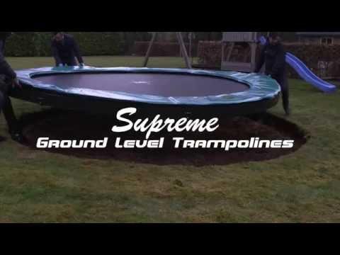 EXIT Supreme Ground Level Trampoline | Trampolin-Profi.de