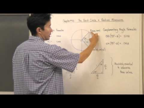 Negative and Complementary Angles Formula & Multiples of pi/6 and pi/4
