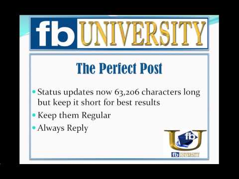 Anatomy of the Perfect Facebook Post: Creating VIral Facebook Posts