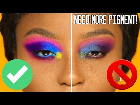 Make eyeshadows POP on ANY skintone | PhD in PIGMENT!