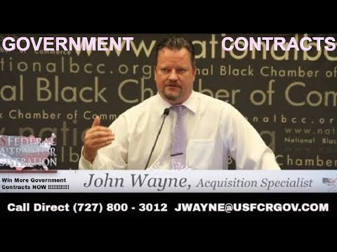 FREE GRANT MONEY how to John Wayne II explains how to get government grants for your small Business