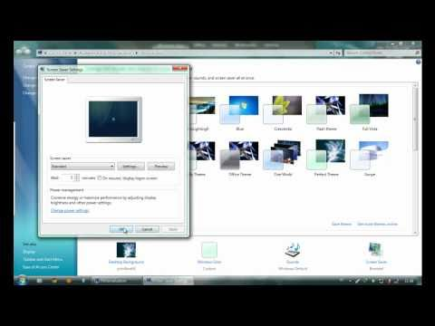 Windows Energy Screen Saver for Windows 7