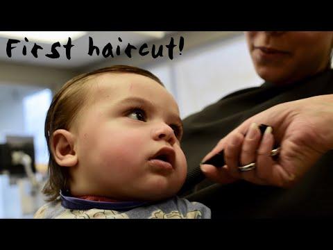 Baby Boy's First Haircut