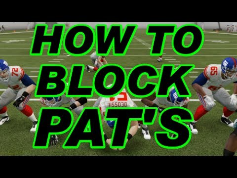 Madden NFL 25 Ultimate Team - How to Block PAT'S Tutorial