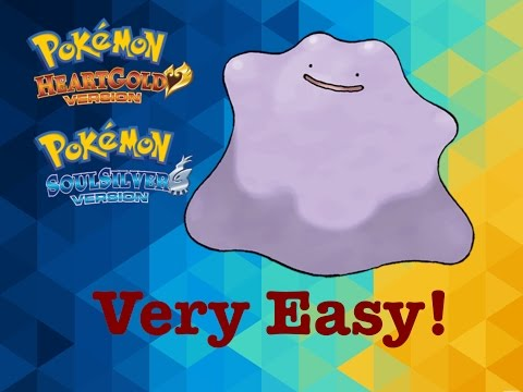 Pokemon HeartGold & SoulSilver - How to get Ditto!