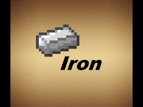 Minecraft - Crafting Recipes - Iron