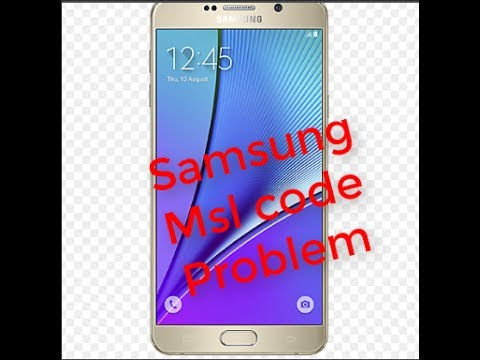How To samsung msl Problem get your MSL number from your Samsung
