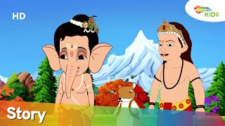 बाल गणेश जी की कहानिया | Bal Ganesh And The Pomzom Planet - Episode – 05 | Shemaroo Kids
